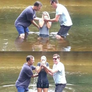 Refuge River Baptism