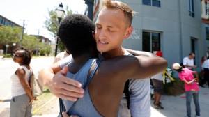 Charleston Shooting Hug