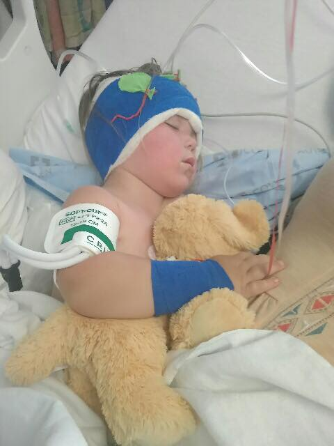 Little John After Surgery STUFFED ANIMAL