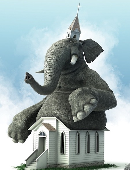 Elephant In The Church